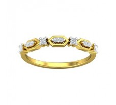 Natural Diamond Ring 0.16 CT / 1.80 gm Gold