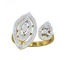 Natural Diamond Ring 0.85 CT / 4.50 gm Gold