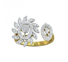 Natural Diamond Ring 0.76 CT / 4.50 gm Gold