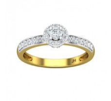 Natural Diamond Ring 0.47 CT / 2.80 gm Gold