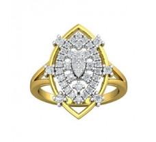 Natural Diamond Ring 0.55 CT / 4.80 gm Gold