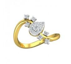 Natural Diamond Ring 0.32 CT / 3.00 gm Gold