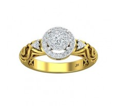 Natural Diamond Ring 0.52 CT / 4.60 gm Gold
