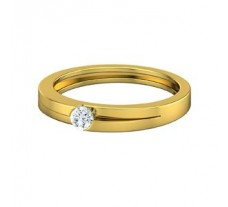 Natural Diamond Band for Men 0.25 CT / 4.20 gm Gold