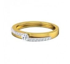 Natural Diamond Band for HER 0.30 CT / 2.60 gm Gold