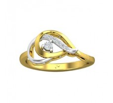 Natural Diamond Ring 0.11 CT / 2.85 gm Gold