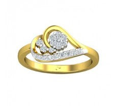 Natural Diamond Ring 0.23 CT / 3.00 gm Gold