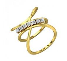 Diamond Ring 0.28 CT / 4.50 gm Gold