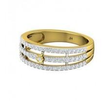 Natural Diamond Band 0.52 CT / 4.00 gm Gold