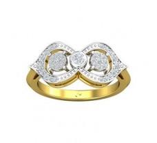Natural Diamond Ring 0.35 CT / 3.90 gm Gold
