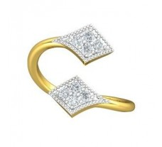 Natural Diamond Ring 0.26 CT / 2.51 gm Gold