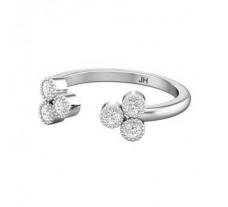 Natural Diamond Ring 0.15 CT / 1.70 gm Gold