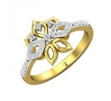 Natural Diamond Ring 0.23 CT / 3.22 gm Gold
