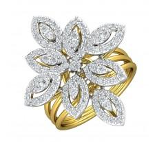 Natural Diamond Ring 0.99 CT / 7.40 gm Gold