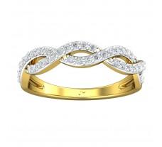 Natural Diamond Ring 0.28 CT / 2.70 gm Gold