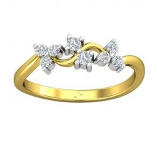 Natural Diamond Ring 0.20 CT / 2.20 gm Gold