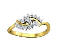 Natural Diamond Ring 0.26 CT / 2.52 gm Gold