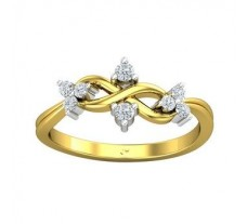 Natural Diamond Ring 0.19 CT / 2.47 gm Gold