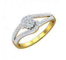 Natural Diamond Ring 0.40 CT / 2.77 gm Gold