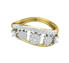 Natural Diamond Ring 0.52 CT / 3.53 gm Gold