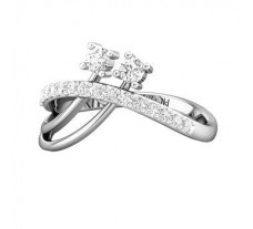 Natural Diamond Ring 0.40 CT / 3.40 gm Gold
