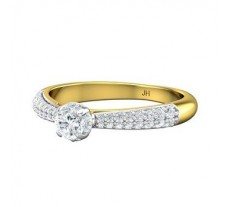Natural Diamond Ring 0.55 CT / 3.04 gm Gold