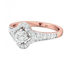 PreSet Natural Solitaire Diamond Ring 0.70 CT / 3.00 gm Gold