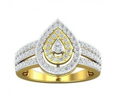 Natural Diamond Ring 0.76 CT / 4.63 gm Gold