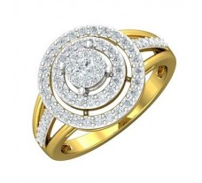 Natural Diamond Ring 0.68 CT / 4.31 gm Gold