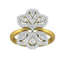 Natural Diamond Ring 0.66 CT / 5.22 gm Gold
