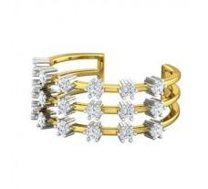 Natural Diamond Band 0.72 CT / 3.91 gm Gold