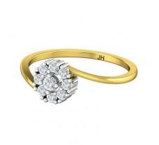 Natural Diamond Ring 0.25 CT / 1.85 gm Gold