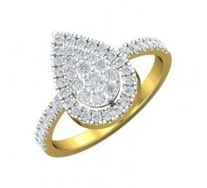 Natural Diamond Ring 0.58 CT / 3.05 gm Gold