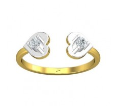 Natural Diamond Ring 0.13 CT / 2.00 gm Gold