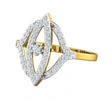 Natural Diamond Ring 0.47 CT / 3.05 gm Gold