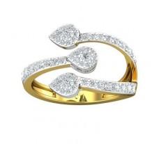 Natural Diamond Ring 0.64 CT / 3.64 gm Gold