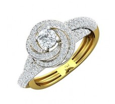 PreSet Natural Solitaire Diamond Ring 1.12 CT / 5.63 gm Gold