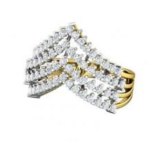 Natural Diamond Ring 0.96 CT / 4.70 gm Gold