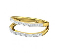 Natural Diamond Ring 0.32 CT / 4.00 gm Gold