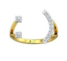 Natural Diamond Ring 0.20 CT / 1.91 gm Gold