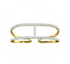 Natural Diamond Ring 0.73 CT / 4.89 gm Gold