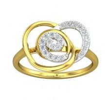 Natural Diamond Ring 0.21 CT / 2.49 gm Gold