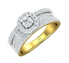 Natural Diamond Ring 1.04 CT / 5.60 gm Gold