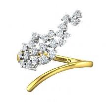 Natural Diamond Ring 0.42 CT / 2.74 gm Gold