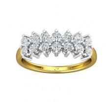 Natural Diamond Ring 0.76 CT / 2.59 gm Gold