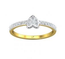 Natural Diamond Ring 0.30 CT / 1.95 gm Gold