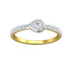 Natural Diamond Ring 0.34 CT / 1.97 gm Gold