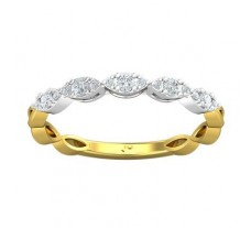 Natural Diamond Ring 0.22 CT / 1.59 gm Gold