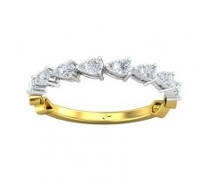 Natural Diamond Ring 0.36 CT / 1.68 gm Gold