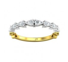 Natural Diamond Ring 0.36 CT / 1.69 gm Gold
